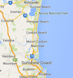 Sunshine Coast Electricians Service Area